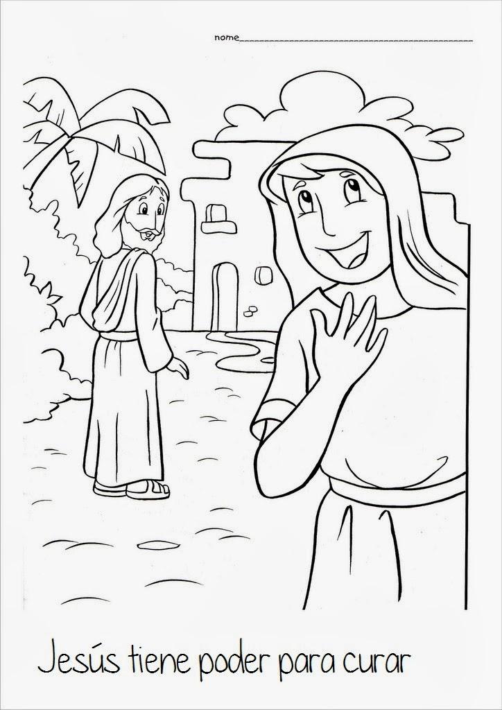 la mujer samaritana para ninos