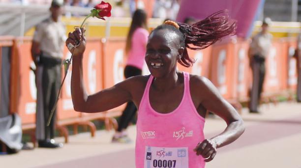 Margaret Toroitich ganò la carrera por la niñez