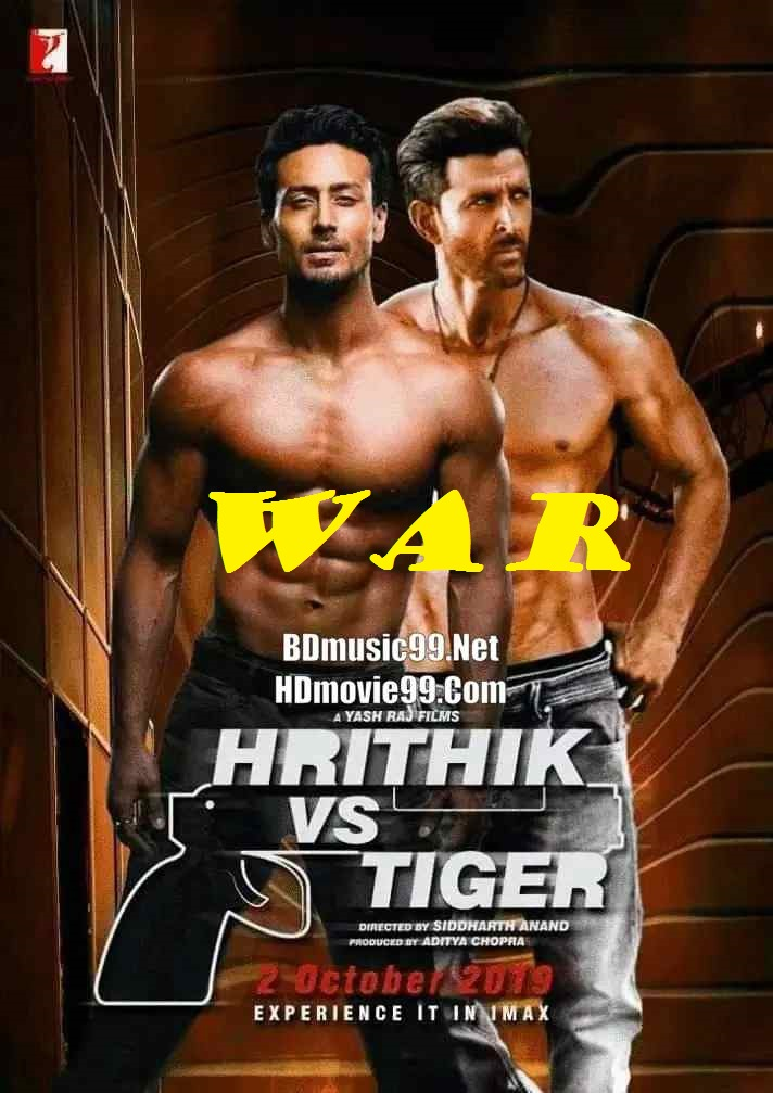 War (2019) full hd Hindi 480p BluRay 450MB ESubs