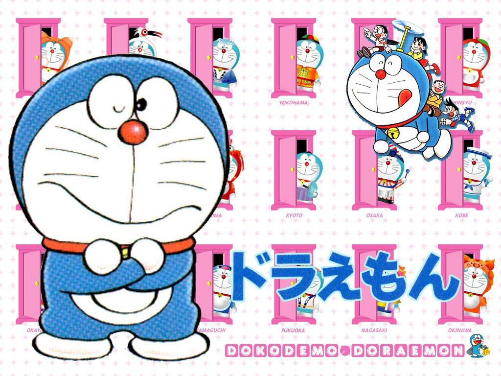 Gambar Animasi Doraemon