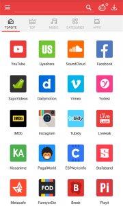 تحميل برنامج Vidmate لتحميل مقاطع الفيديو والصوت من مواقع الانترتت المختلفة  مجانا للاندرويد