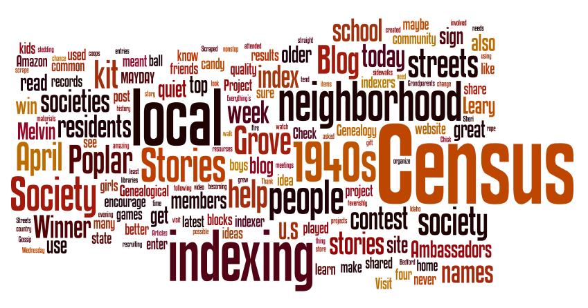 Genea-Musings: Saturday Night Genealogy Fun - Do a Wordle Cloud