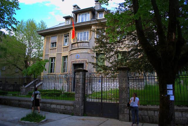 Бывшее французское посольство в Цетинье