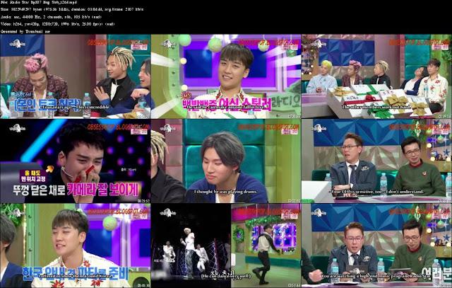 Radio Star Ep507 Eng Sub - Big Bang Part2