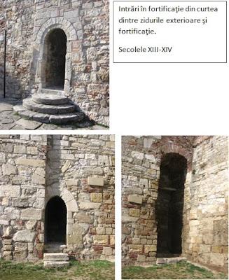 intrarile din cetatea Vidin