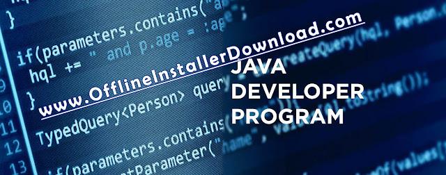 Java Development kit (JDK) 8 free Offline Installer / Standalone