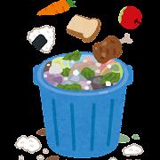 食品廃棄物のイラスト