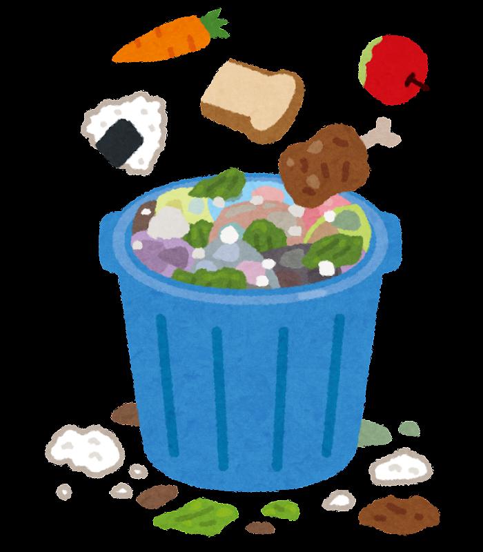 食品廃棄物のイラスト | かわいいフリー素材集 いらすとや