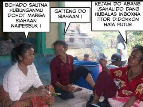 Ibu-ibu pacaran di fb
