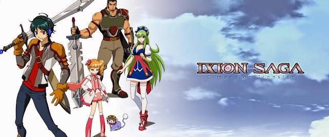Kadr z bohaterami Ixion Saga DT