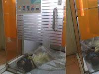 Foto Dua Bocah Tidur Berselimutkan Plastik dalam Bilik ATM, Publik Syok Tahu Sosok Mereka