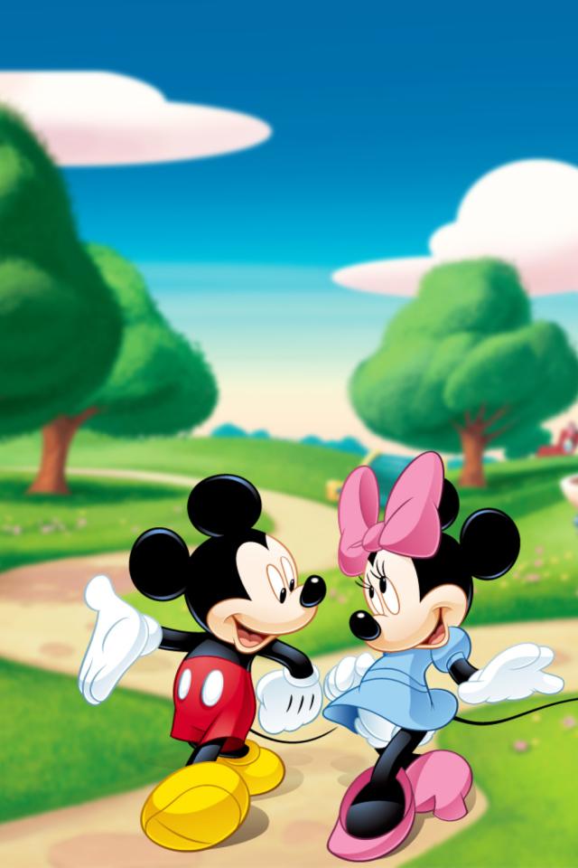 Mickey Mouse Wallpaper Iphone 4 Papel De Parede Para Celular Toda Atual