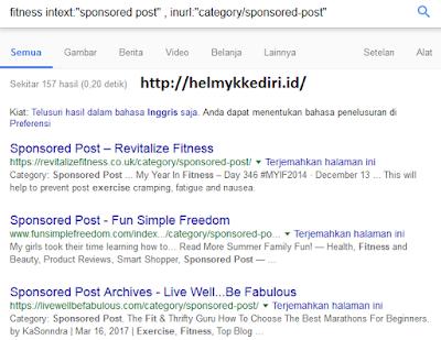 menggunakan operator pencarian googlev