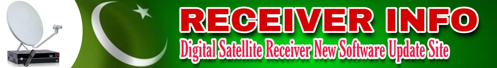 Digital Satellite Dish Receiver Software Update Receiver Option Info