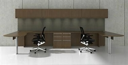Cherryman Verde 2 Person Desk