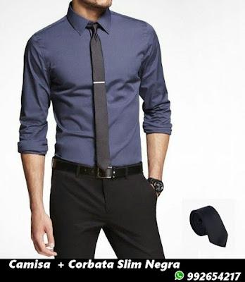Camisa - Corbata