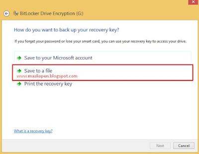 Cara Mudah Memberi Password Pada Flashdisk Tanpa Software