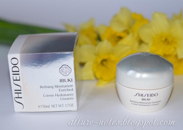 отзыв Shiseido iBUKI Refining Moisturizer Enriched