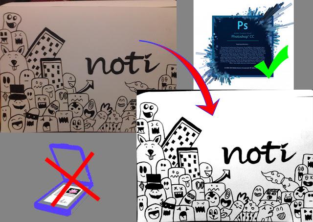 Cara Jitu Scan Berkas, Gambar atau Foto Dengan Photoshop CC Tanpa Scanner