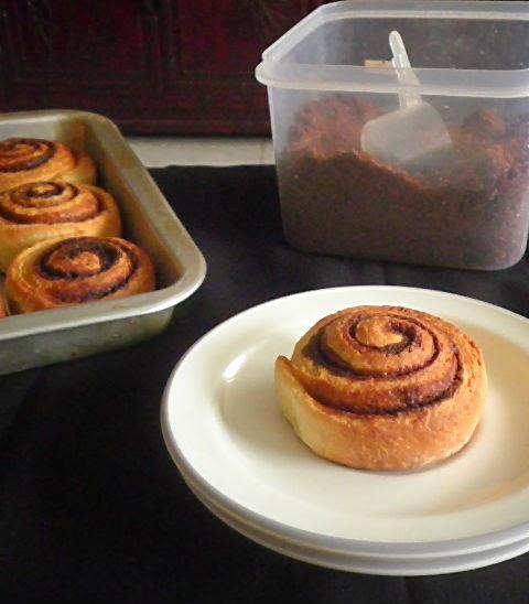Cinnamon Rolls Recipe @ http://treatntrick.blogspot.com