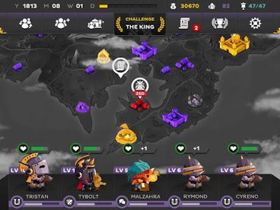 لعبة King's League Odyssey كاملة للأندرويد، لعبة King's League Odyssey مكركة، لعبة King's League Odyssey مود فري شوبينغ