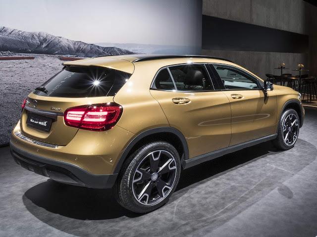 Mercedes-Benz GLA ganha face-lift na linha 2018