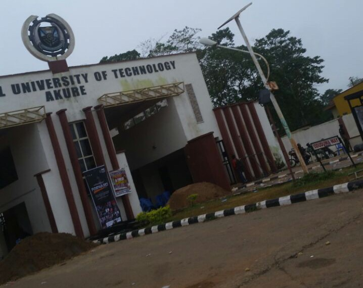 FUTA: Management removed school gate... sources tell us.
