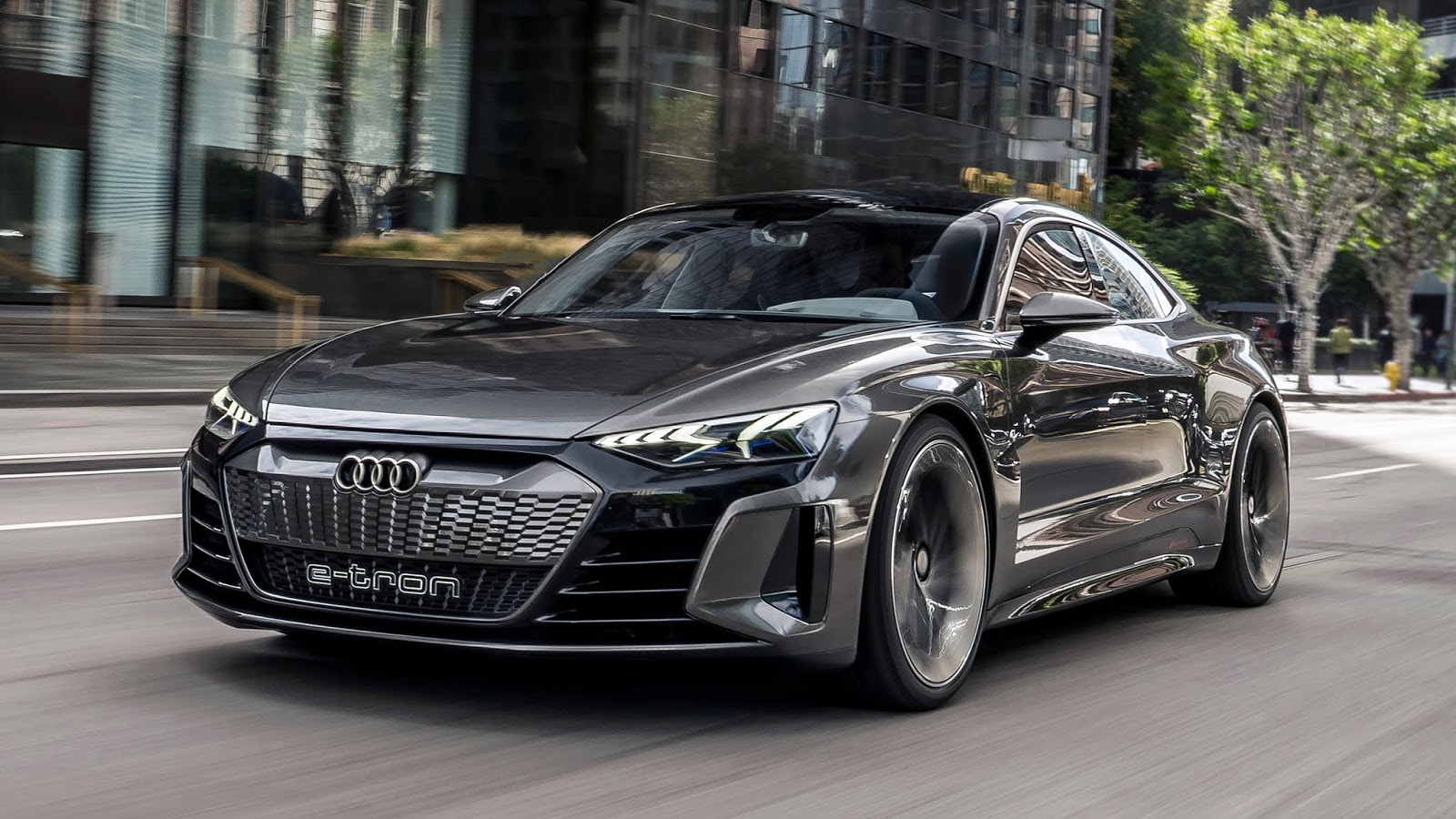 Automotiveblogz Audi E Tron Gt Concept First Drive 2019
