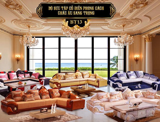 Ảnh: Ghế sofa BT13a