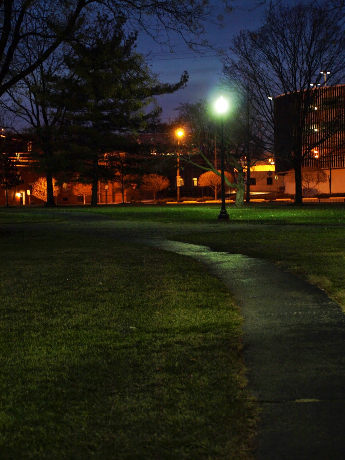 Picture of a park in Columbus, Ohio (taken 12/31/13)