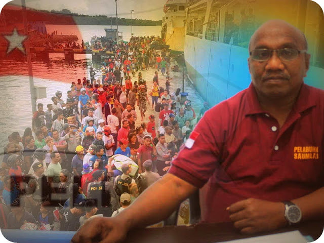 Hampir 1000 Orang Mudik via Pelabuhan Saumlaki