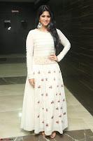Megha Akash in beautiful White Anarkali Dress at Pre release function of Movie LIE ~ Celebrities Galleries 010.JPG
