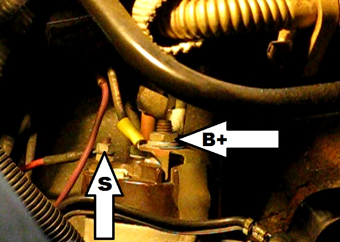 2007 cobalt starter wiring diagram for a solenoid the original mechanic: how to replace in gm 2.4l quad four grand am, sunfire ...