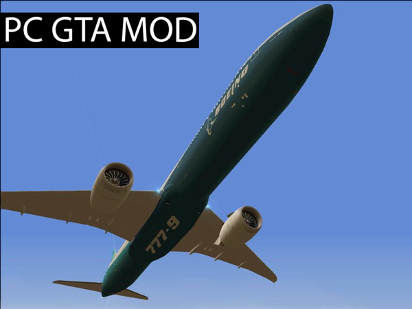 Free Download  Boeing 777-9X  Mod for GTA San Andreas.