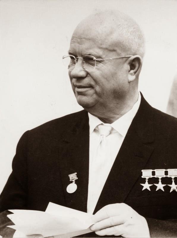 Nikita Chruščёv , primo ministro dell'URSS.