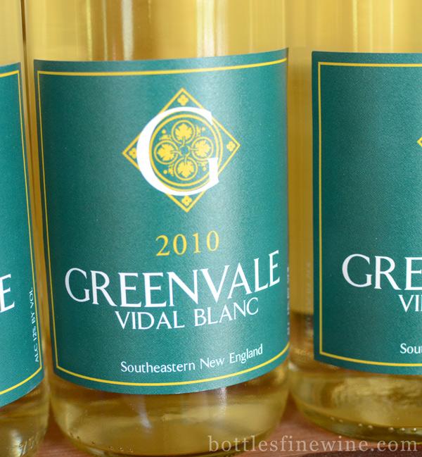 greenvale wine rhode island vidal blanc