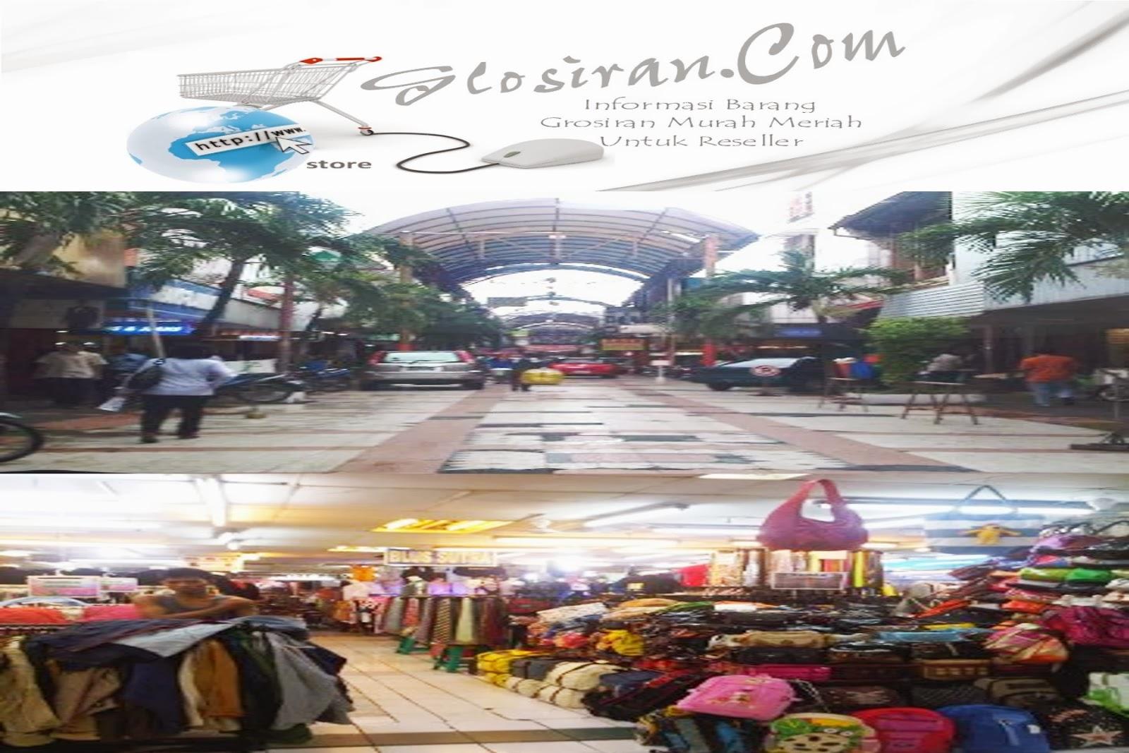 Pasar Baru Jakarta Tempat Grosiran Kosmetik & Pakaian