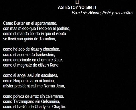 Joaquin Sabina Poemas 51 Asi Estoy Yo Sin Ti