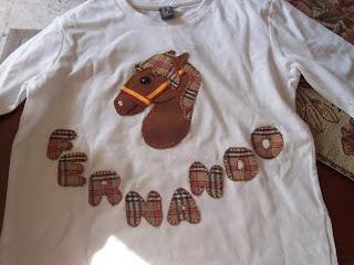 Camiseta de caballos
