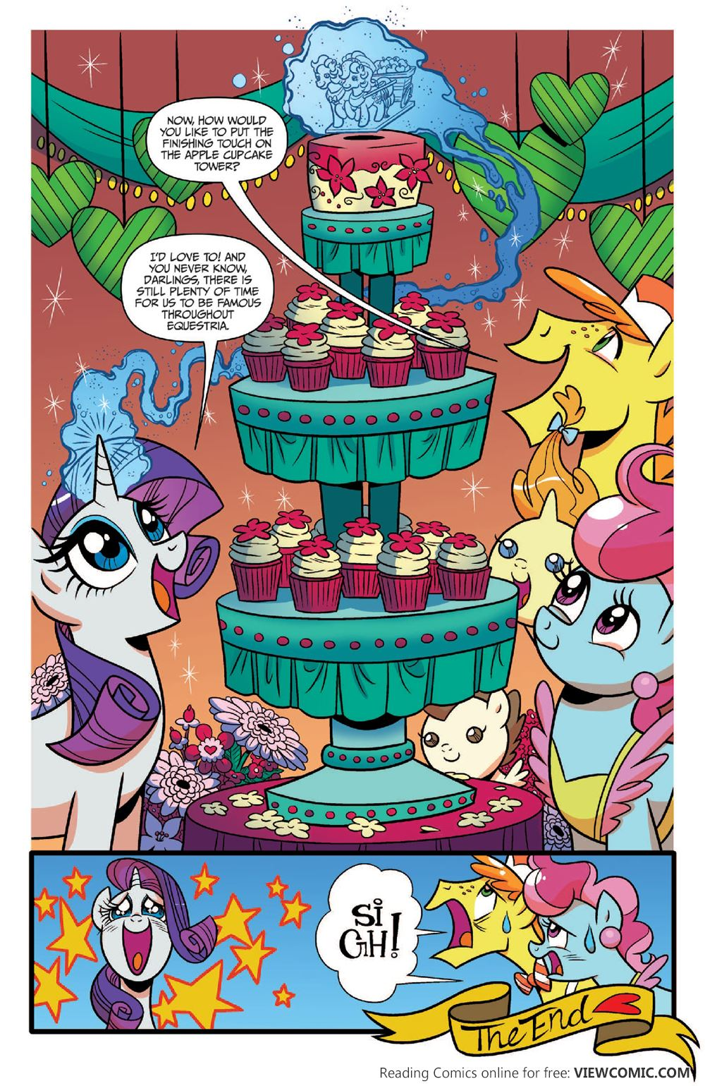 my little pony friends forever viewcomic reading comics online