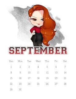 Riverdale: Calendario 2019 para Imprimir Gratis.