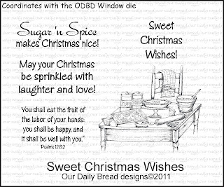 Our Daily Bread Designs - Stamps Sweet Christmas Wishes