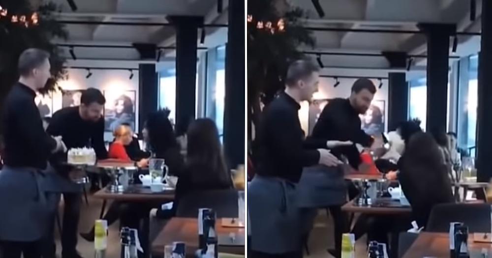 Η εκδίκηση των σερβιτόρων στις αυθάδεις πελάτισσες (Βίντεο)