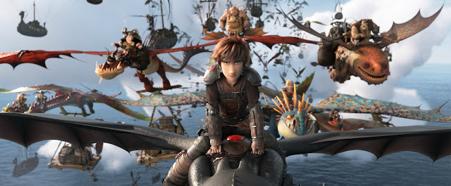 Attack Scene on Viking Family on How To Train your Dragon The Hidden World 2019 Bluray BRrip Full HD