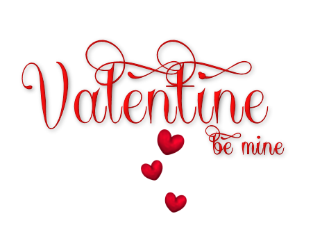 Escape From Reality Blog FTU 2017 Valentine Word Art