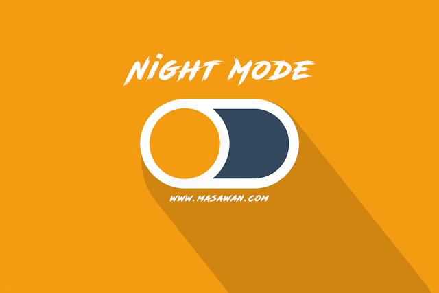 Cara Membuat Night Mode di Blogger with Cookie