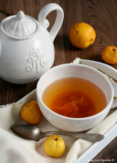 zimowe napoje rozgrzewające, przetwory, zamiennik cytryny do herbaty