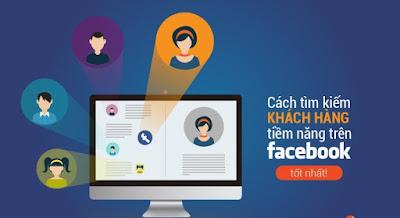 Tìm kiếm khách hàng qua Facebook để kinh doanh trên mạng hiệu quả