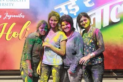 Holi Celebration at Jagran Lakecity University