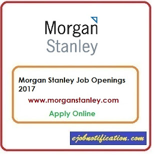 Morgan Stanley Hiring Freshers Java Developer Jobs in Bangalore Apply Online